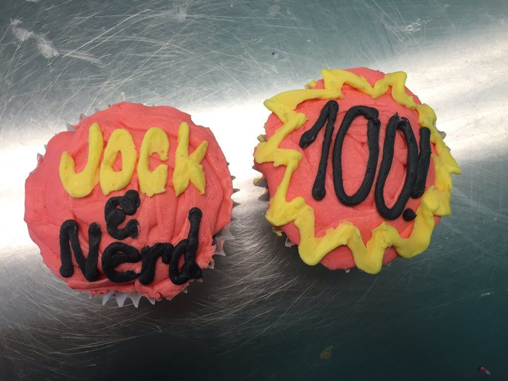 Thank you to Jordan Radford for these virtual cupcakes!